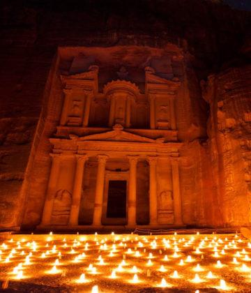 Petra-Night-Jordan