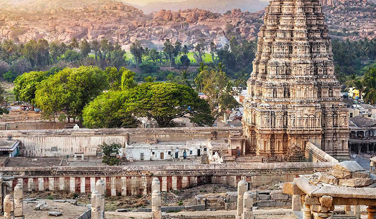 Hampi india to in thai