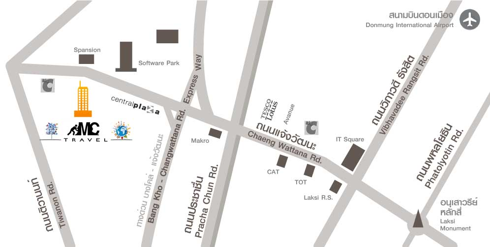 Maps Mercator-Central