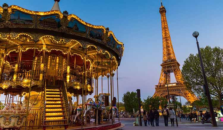 Paris go Trip Romantic